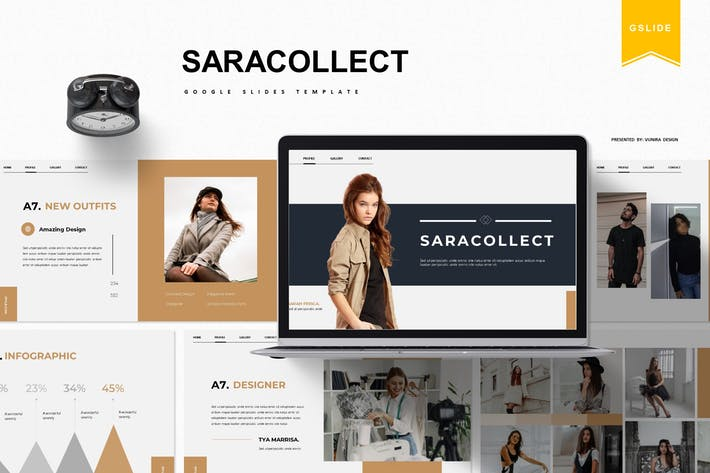 Saracollect | Google Slide Template