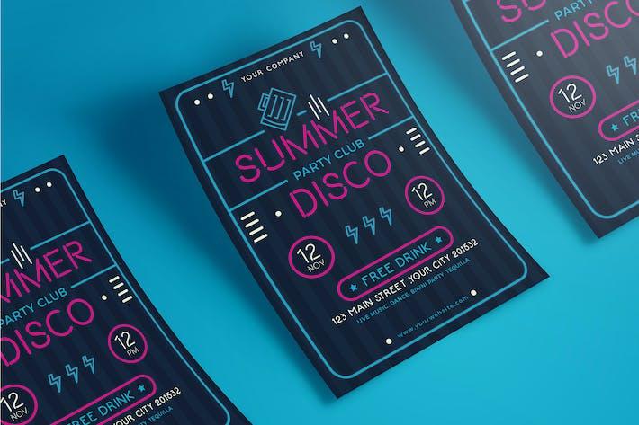 Thumbnail for Summer Neon Flyer