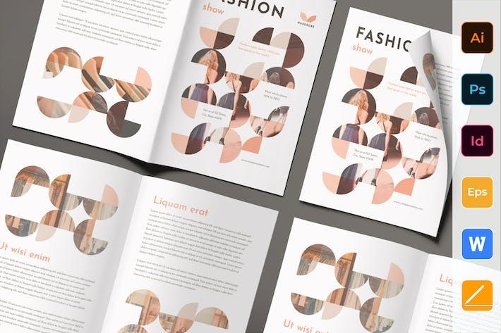 Thumbnail for Fashion Shop Brochure Bifold