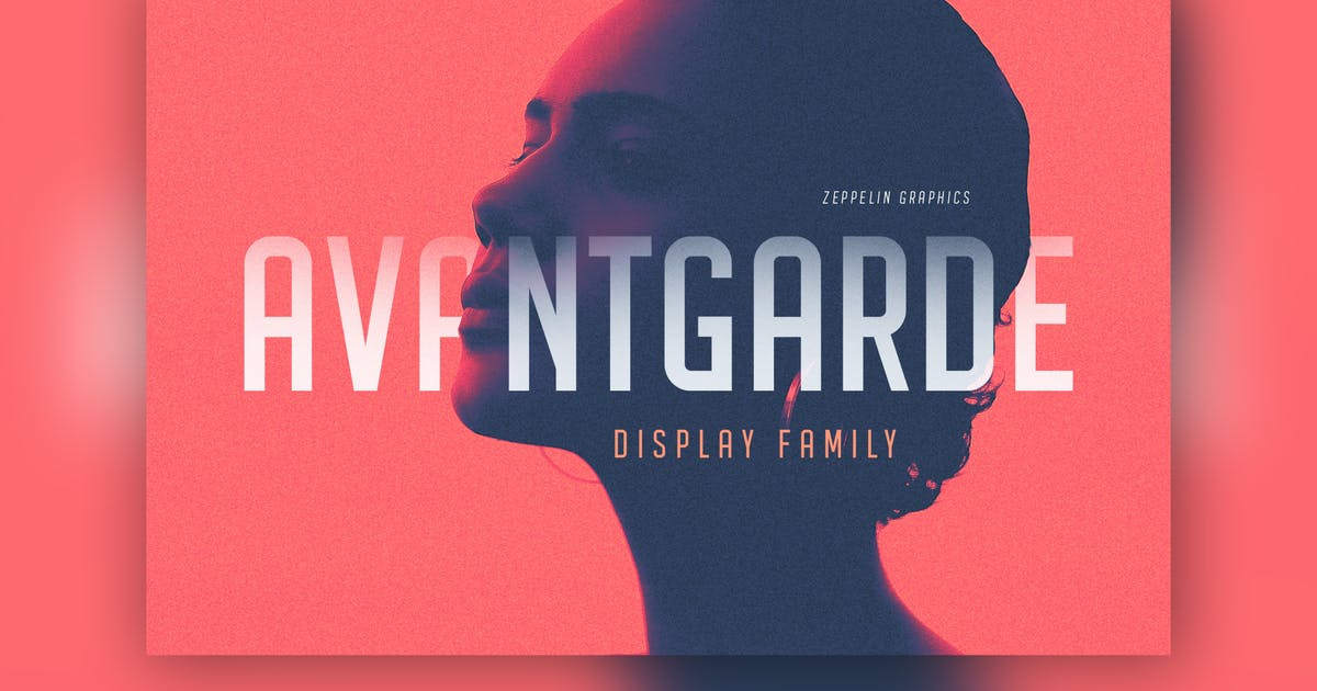 Download Avantgarde Sans Serif Font by Zeppelin_Graphics