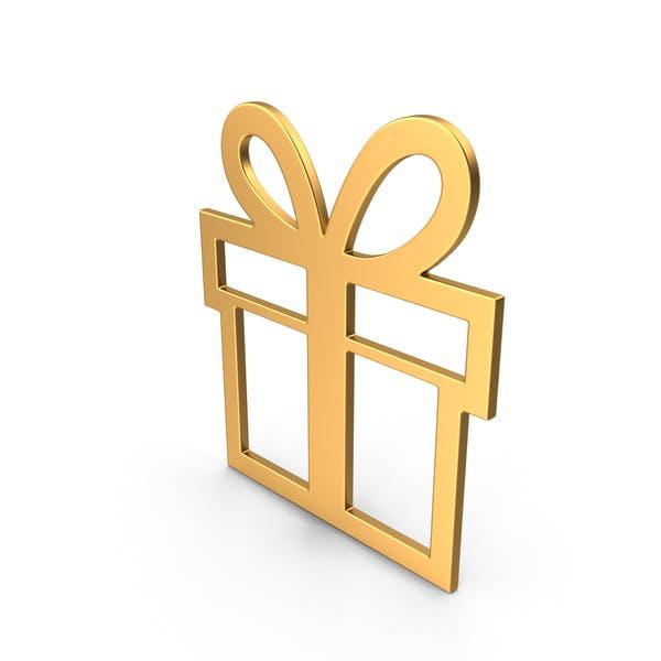 Thumbnail for Gift Symbol Gold