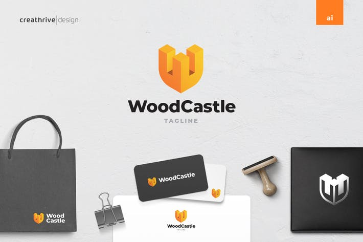 Wood Castle Logo