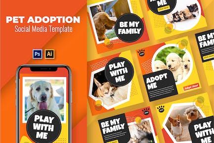 Adopt a Pet Social Media