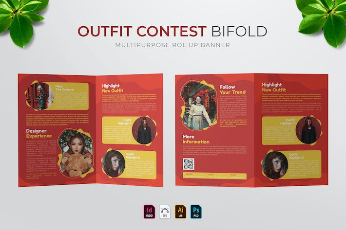 Outfit Contest | Bifold Brochure