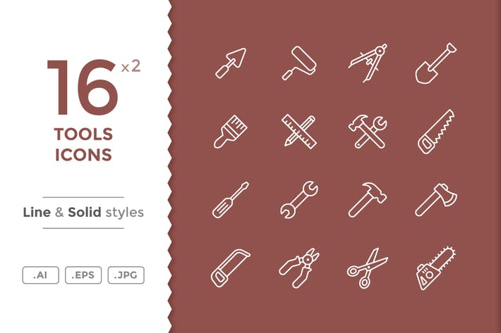 Thumbnail for Tools Icons