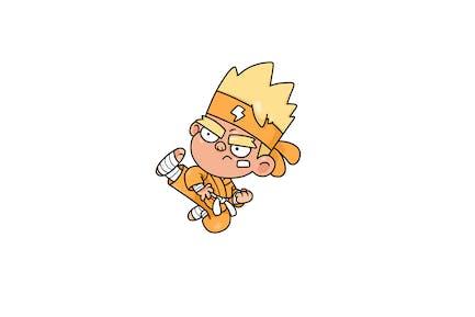 Flash Fighter - Charakter RG