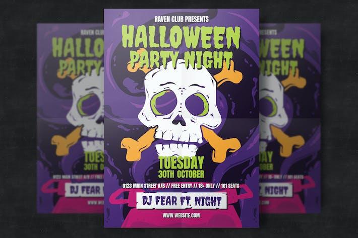 Download 38 bat graphic templates envato elements thumbnail for halloween party flyer template maxwellsz