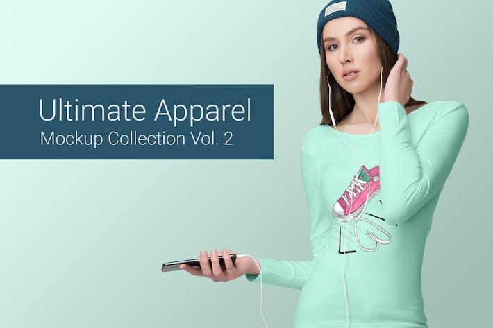 Thumbnail for Ultimate Apparel Mockup Vol. 2