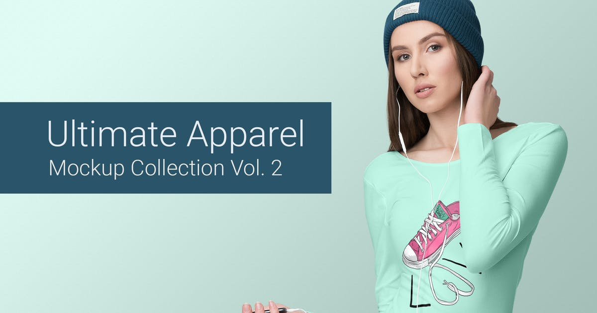 Download Ultimate Apparel Mockup Vol. 2 by Genetic96