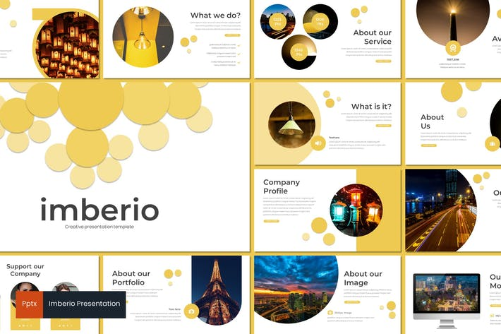 Thumbnail for Imberio - Powerpoint Template