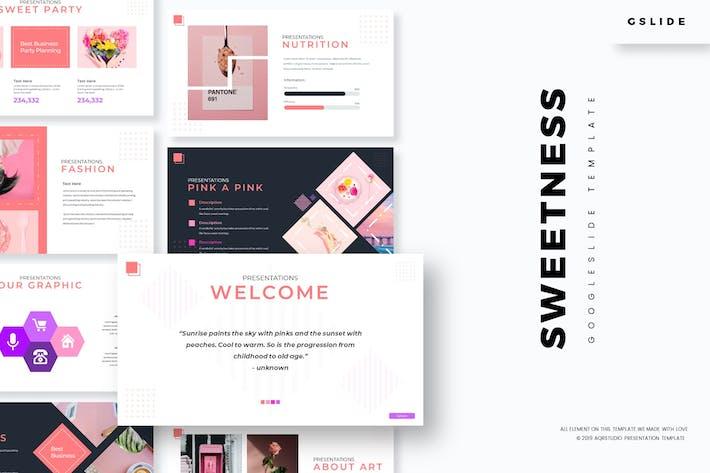 Thumbnail for Sweetness - Google Slides Template