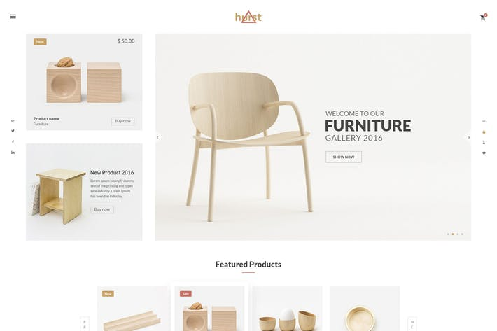 Thumbnail for Hurst - eCommerce PSD Template