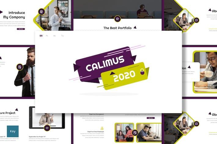 Thumbnail for Calimus - Multipurpose Keynote Template