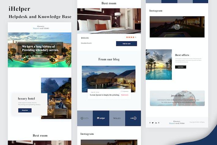 Thumbnail for Nanovi - Resort and Hotel Email Newsletter