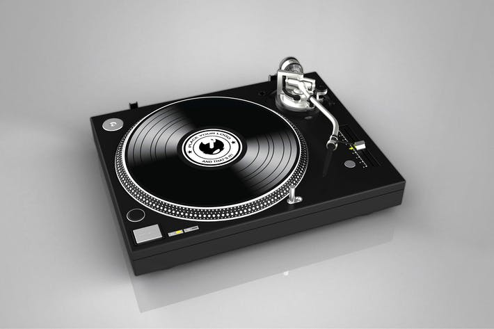 Thumbnail for Dj Turntable Mock Up