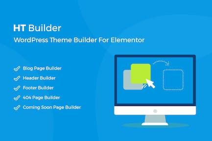 HT Builder Pro - WordPress Theme Builder for Eleme