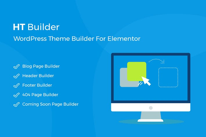 Thumbnail for HT Builder Pro - WordPress Theme Builder for Eleme