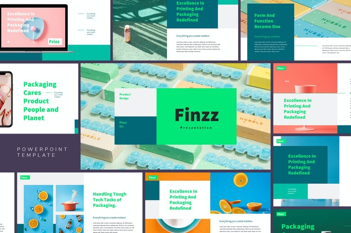 Frizz - Creative Agency Powerpoint Template
