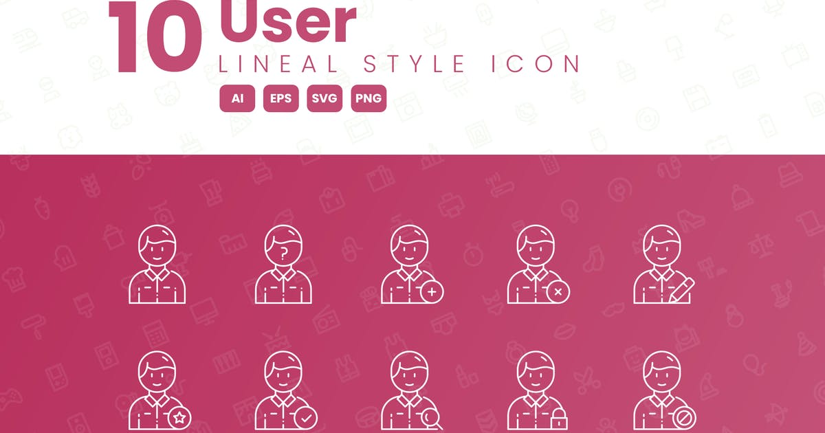 Download 10 User Detailed Icon Collection by studiotopia