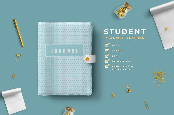 Thumbnail for Dilan – Student Planner Journal