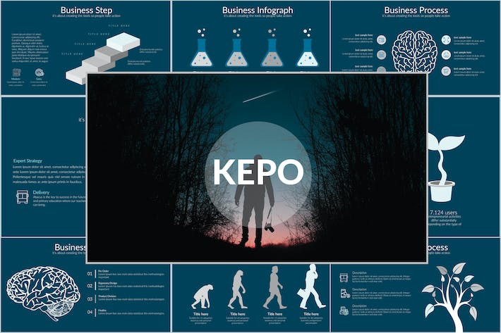 Thumbnail for KEPO Powerpoint Template