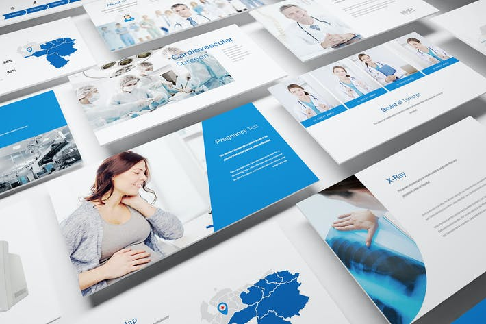 Thumbnail for Medical and Hospital Google Slides Template