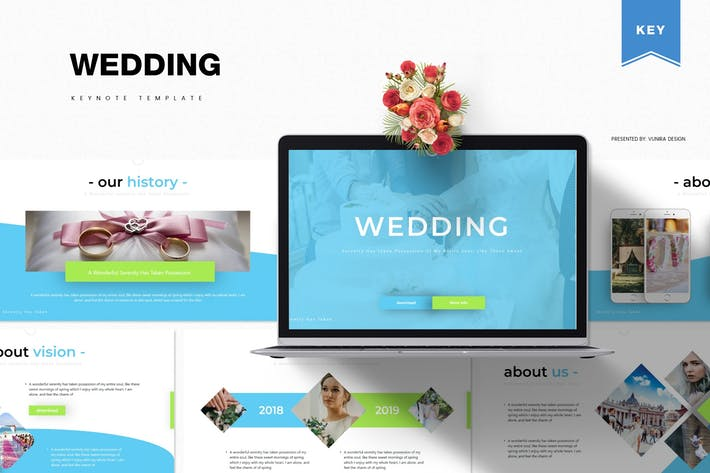 Thumbnail for Wedding | Keynote Template
