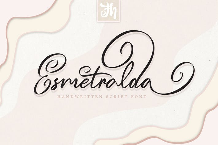 Thumbnail for Esmetralda - Handwritten Font