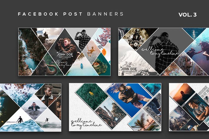 Thumbnail for Facebook Post Banners Vol. 3