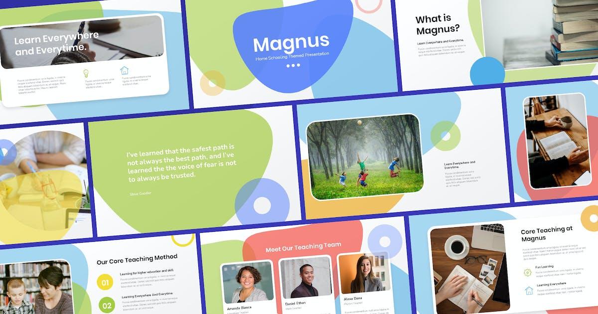 Download Magnus - Home Schooling Template Powerpoint by Slidehack