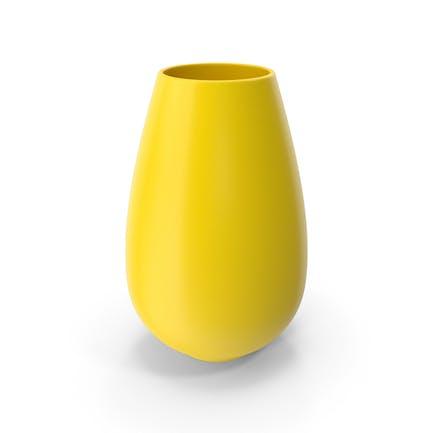 Vase Gelb