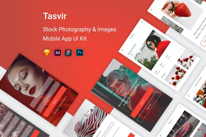 Thumbnail for Tasvir - Stock Photography & Images (Mobile App)