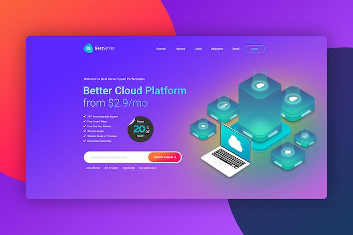 Hero Image - Header Website for Hosting Page 02