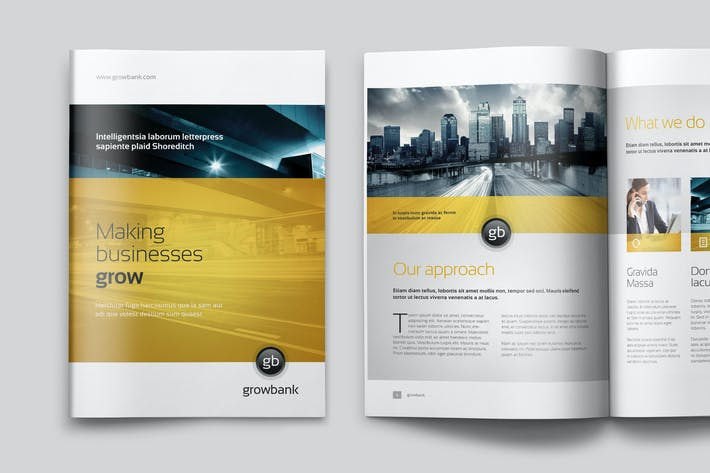 Thumbnail for GrowBank – Business Brochure