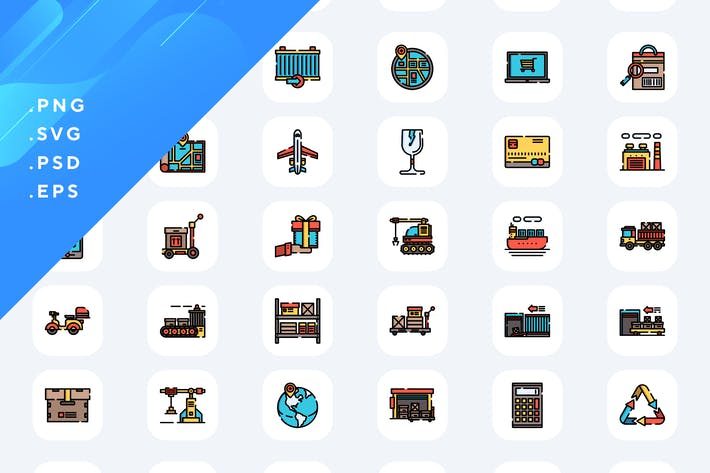 Thumbnail for 50 Sharing Out Icons
