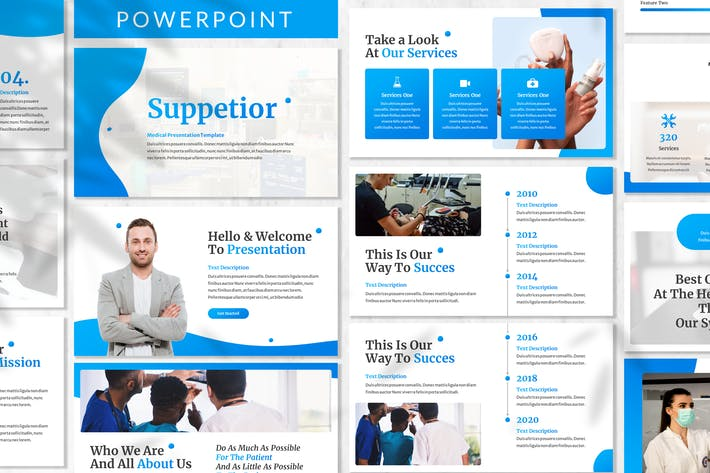 Suppetior - Medical Powerpoint Template