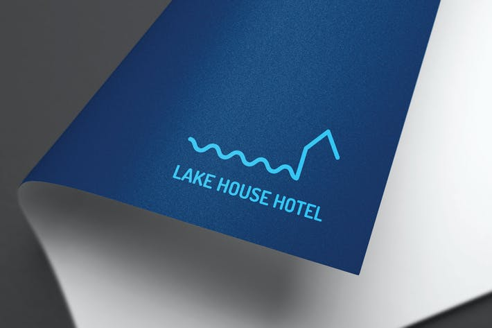 Thumbnail for Lake House Logo Design