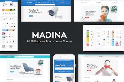 Madina - Multipurpose Responsive Prestshop Theme