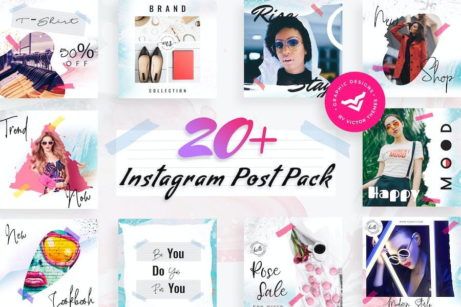 Modern Instagram Post Templates