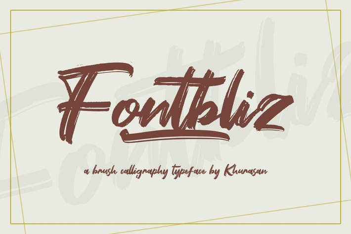 Thumbnail for Fontbliz