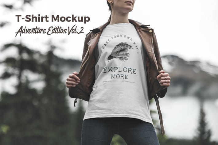 Thumbnail for T-Shirt Mockup Adventure  Edition Vol. 2