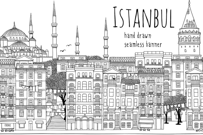 Thumbnail for Istanbul - Nahtloses Banner