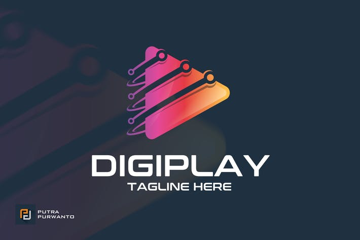 Thumbnail for Digiplay - Logovorlage
