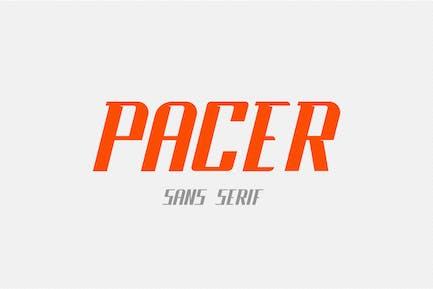 Pacer - Fuente Sans Con serifa