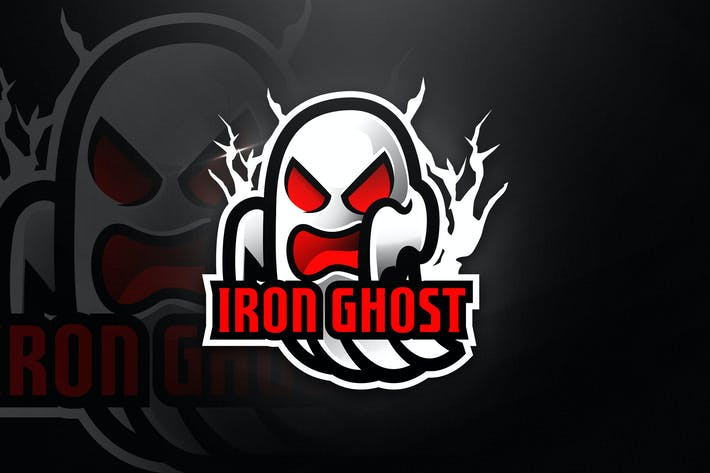 Thumbnail for Iron Ghost - Mascot & Esport Logo