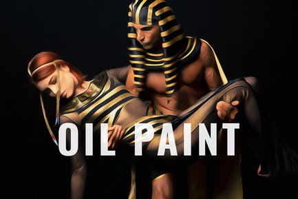 Oil Painting Photo Effect
