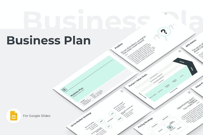 Thumbnail for Business Plan Google Slides Presentation Template