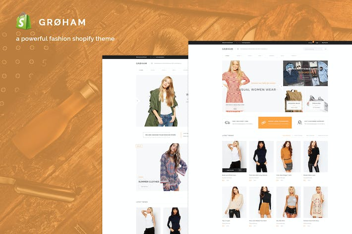 Thumbnail for Groham - Moda eCommerce Shopify Tema