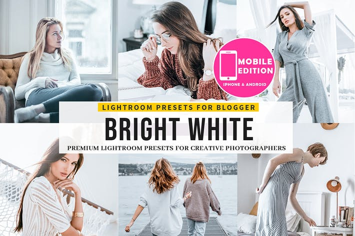 Thumbnail for Bright White Lightroom Presets