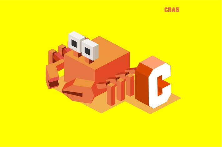 Thumbnail for C for Crab, Animal Alphabet